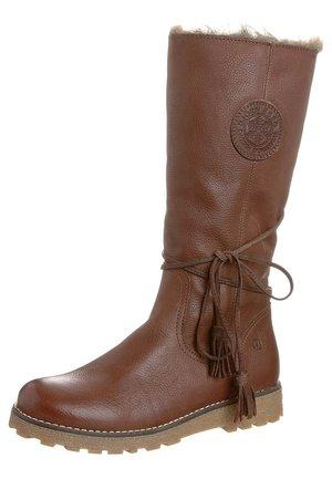 MIMA - Winter boots - darkbrown