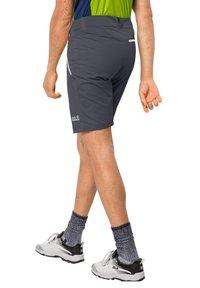 Jack Wolfskin - OVERLAND  - Outdoor shorts - ebony - 1