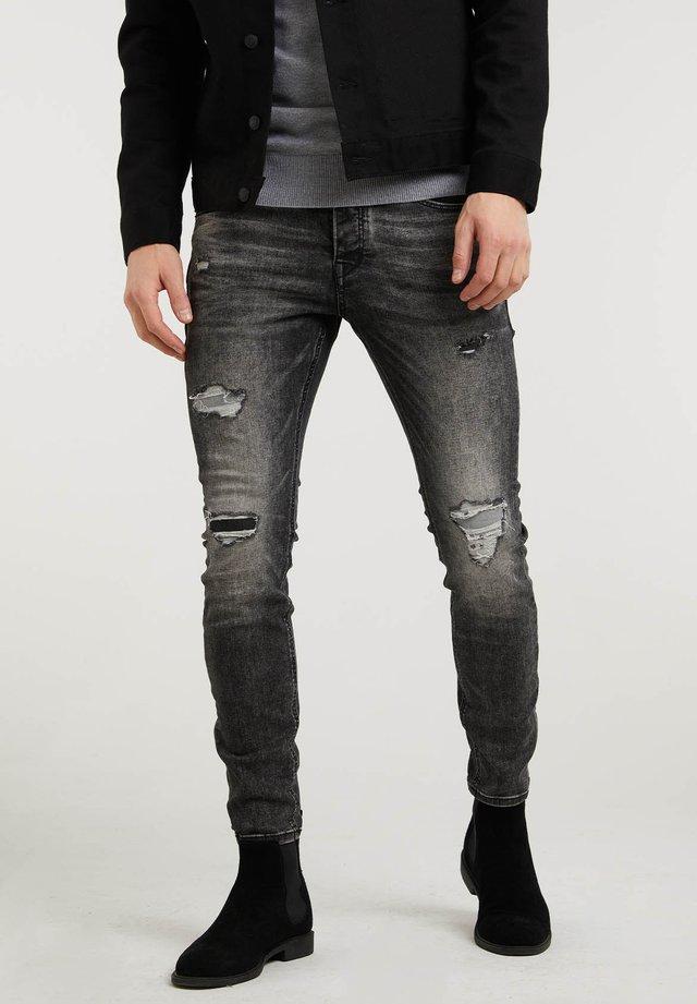 IGGY - Slim fit jeans - dark grey