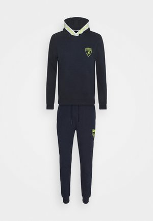 TRACKSUIT SET - Jersey con capucha - prussian blue