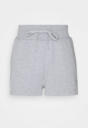 Sports shorts - light melange grey