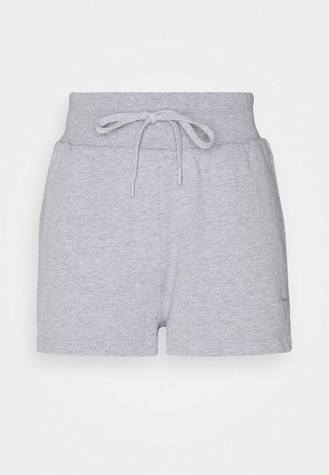 Sports shorts - light melange grey
