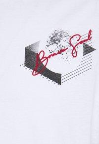 Brave Soul - VOID - Print T-shirt - optic white - 2