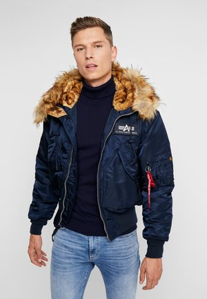 HOODED CUSTOM - Light jacket - rep blue