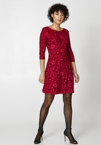 Indiska - BERRY  - Jersey dress - red - 1