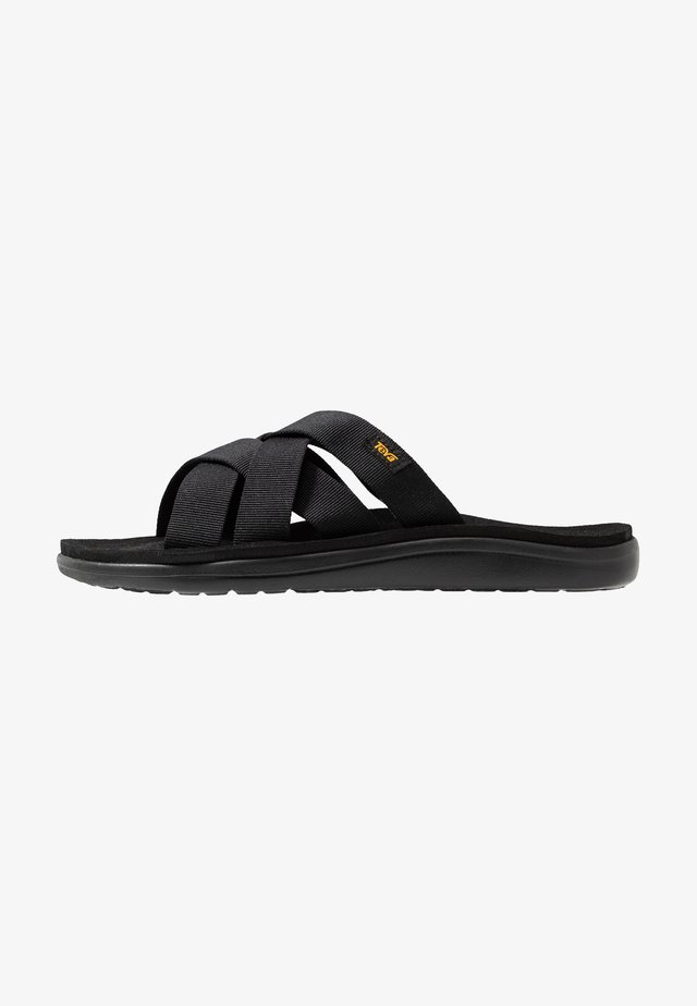 VOYA SLIDE - Walking sandals - black