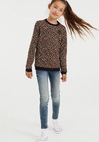 WE Fashion - MET DESSIN - Longsleeve - brown - 0