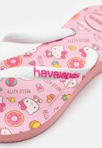 Havaianas - HELLO KITTY - Pool shoes - macaron pink - 5