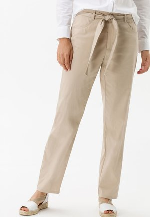 STYLE MELO - Pantalon classique - warm sand