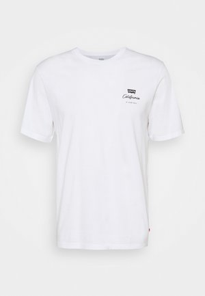 RELAXED FIT TEE UNISEX - T-shirt con stampa - white