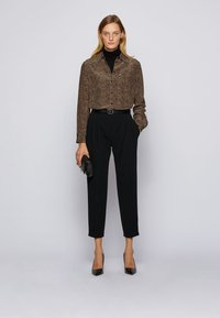 BOSS - Button-down blouse - patterned - 1