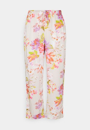 NIGHT TROUSERS PEONY - Pyjama bottoms - dark skin