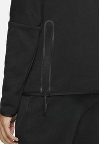 Nike Sportswear - M NSW TCH FLC LS FNL - Sweatshirt - black/black - 5