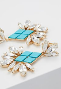 Anton Heunis - Pendientes - turquoise/gold-coloured - 5