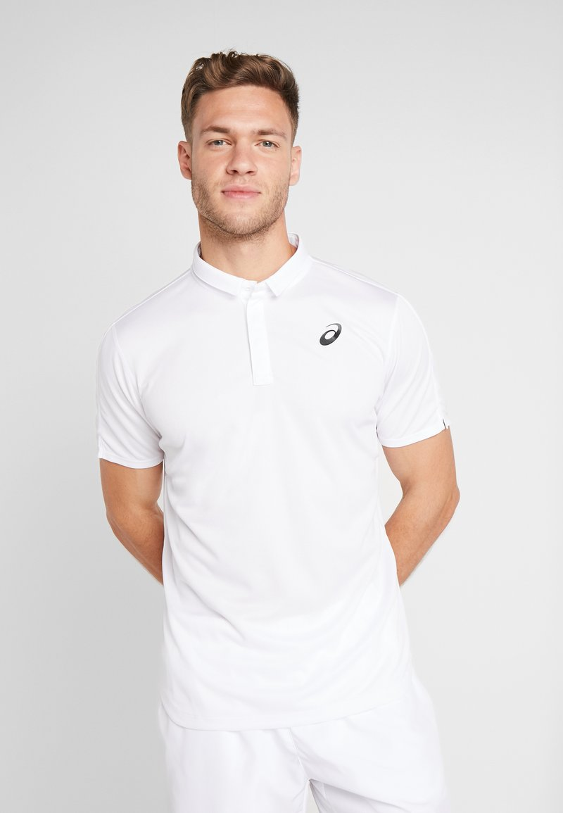 ASICS - CLUB M - Piké - brilliant white