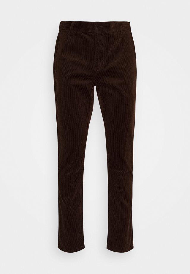 EASY ALVIN - Pantaloni - brown