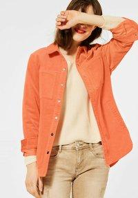 Street One - Summer jacket - orange - 0