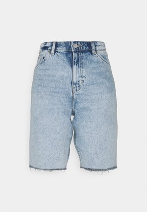 BEA  - Shorts di jeans - blue dusty light