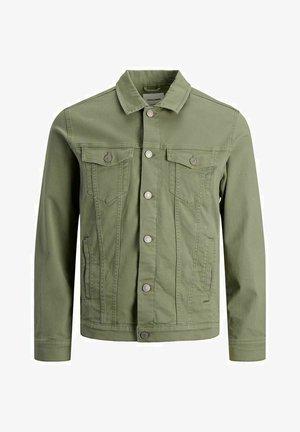 JJIALVIN  - Kurtka jeansowa - deep lichen green