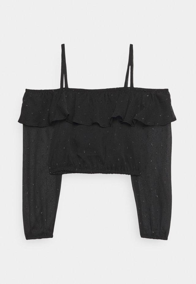 CHOKER - Bluse - black