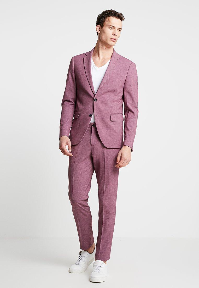 Lindbergh - PLAIN MENS SUIT - Kostuum - dusty pink melange