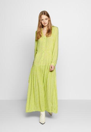 CARIE DRESS - Vestido largo - green light