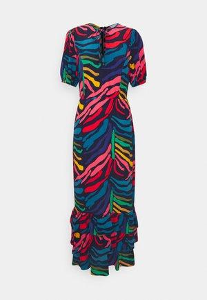PETA RUFFLE DRESS - Maxi dress - multi