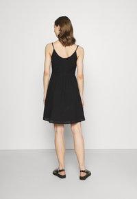 ONLY - ONLHENRY DRESS - Day dress - black - 2