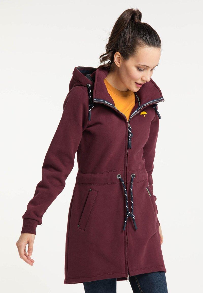 Schmuddelwedda - Zip-up sweatshirt - bordeaux