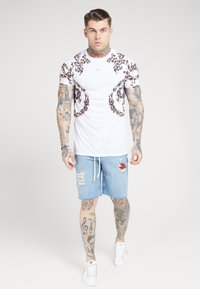 SIKSILK - BOXY PRINTED TEE - T-shirt print - white - 0