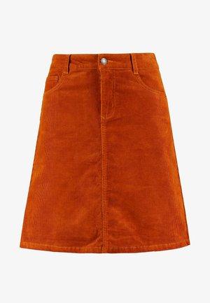 Áčková sukně - pumkin spice