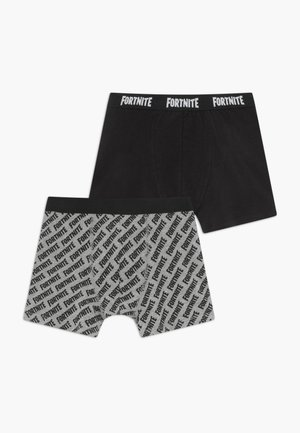 NKMFORTNITE RUBEN 2 PACK - Boxerky - black