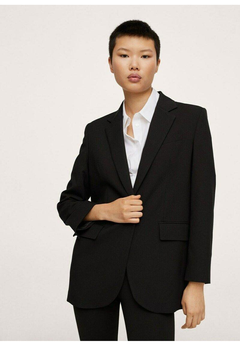 Mango - Manteau court - zwart
