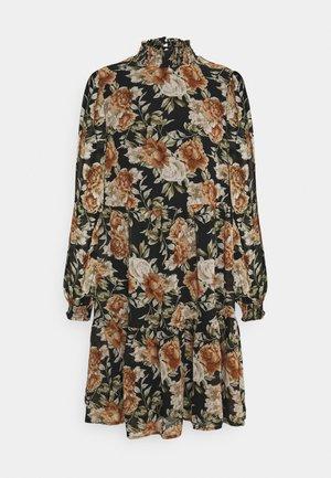 ONLMIA SMOCK DRESS - Jurk - black