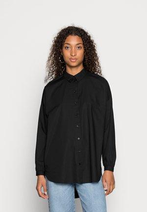 VMNAJA  LONG  - Button-down blouse - black