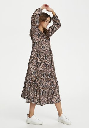 CRTULINA - Day dress - brown paisley mix