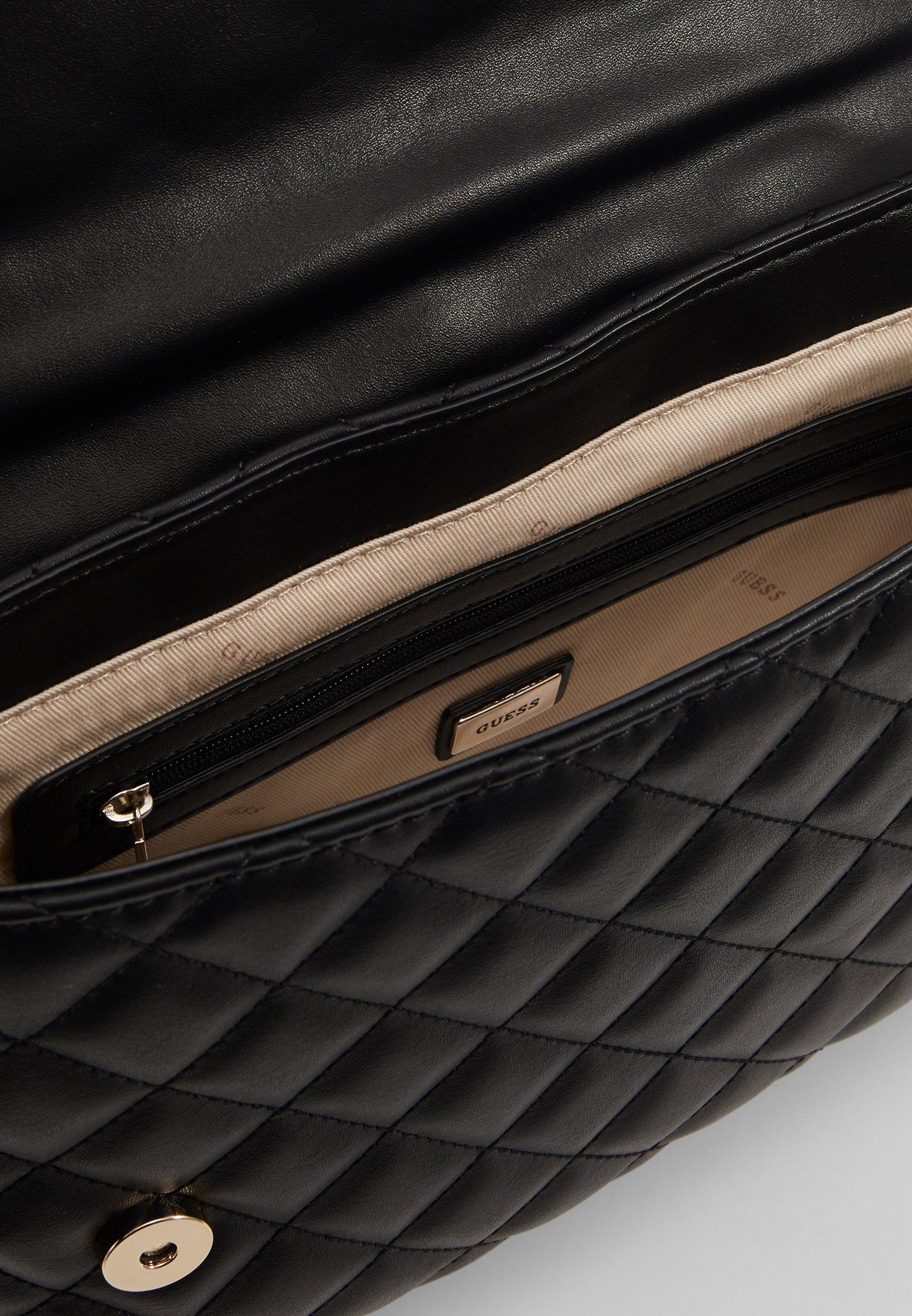 Guess MELISE SHOULDER BAG - Håndveske - black/svart ZfcQowa5hifKhYa