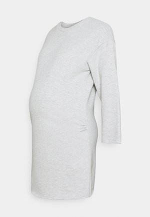 LOUNGEWEAR DRESS - Žerzejové šaty - grey