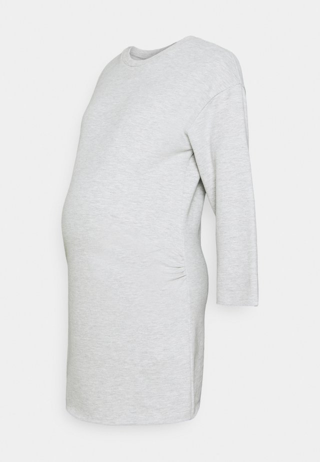 LOUNGEWEAR DRESS - Žerzejové šaty - grey