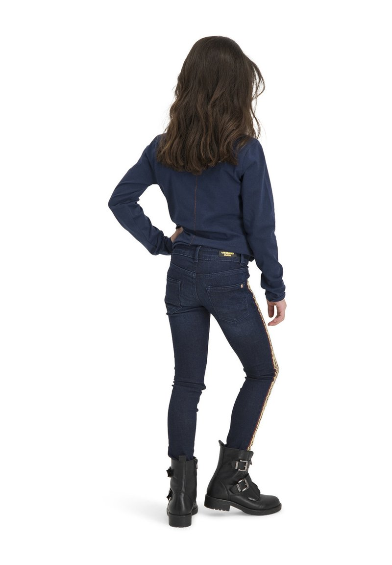 Vingino - JERNEY - Print T-shirt - dark blue