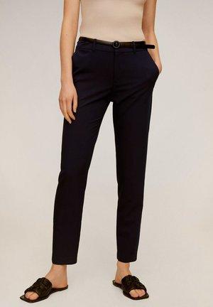 BOREAL - Spodnie materiałowe - dunkles marineblau