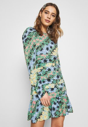 MONACO JOHANNA PRINT DRESS - Korte jurk - blue