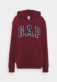 GAP - ARCH - Zip-up hoodie - shiraz - 4