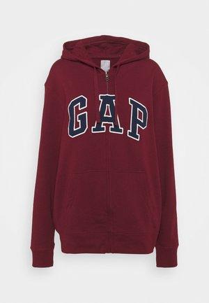 ARCH - Zip-up hoodie - shiraz