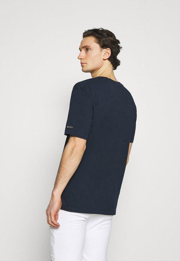 Scotch & Soda ARTWORK - T-shirt z nadrukiem - night/granatowy Odzież Męska GUSE