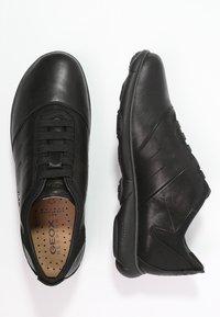 Geox - NEBULA - Scarpe senza lacci - black - 1