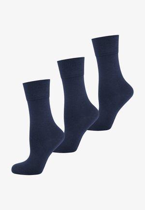 3 PACK  - Strumpor - royal blue