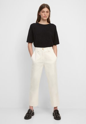Trousers - shaded sand