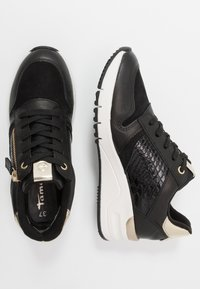 Tamaris - Trainers - black/gold - 3