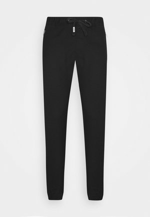 SCANTON JOGGER DOBBY PANT - Tracksuit bottoms - black